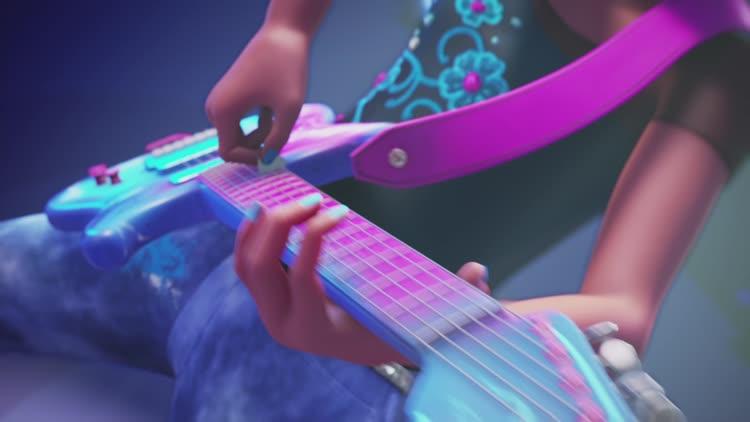 Barbie Eine Prinzessin Im Rockstar Camp Trailer Filmkritik