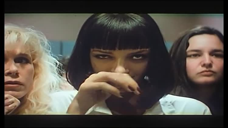 Angela Jones Pulp Fiction