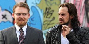 Axel Stein und Moritz Bleibtreu in Nicht Mein Tag, FILM.TV