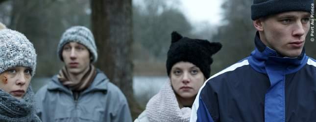 Filmszene aus dem Drama 4 Könige mit Jella Haase