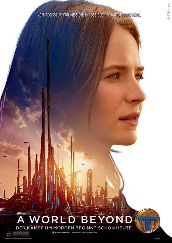 Britt Robertson als Casey in A World Beyond