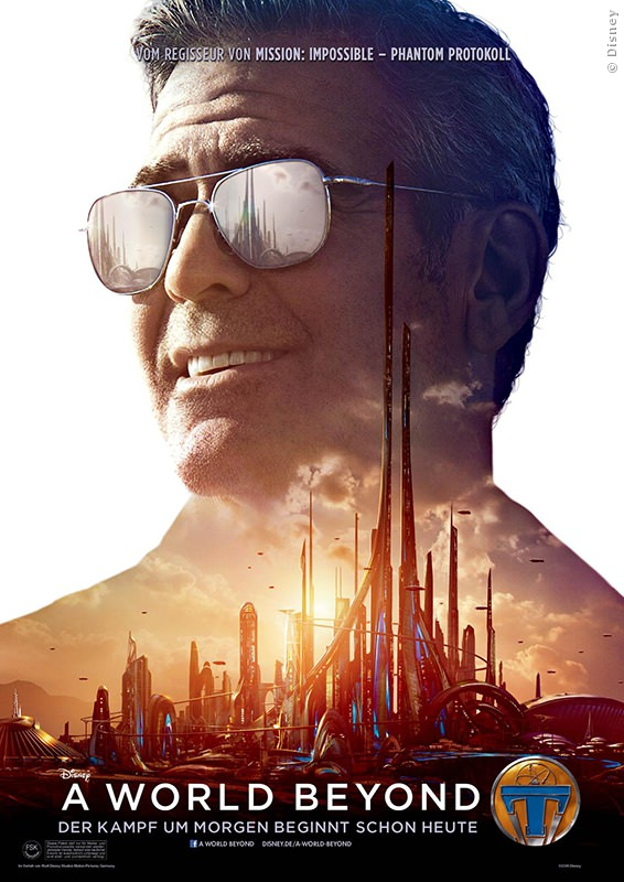 George Clooney als Frank in A World Beyond
