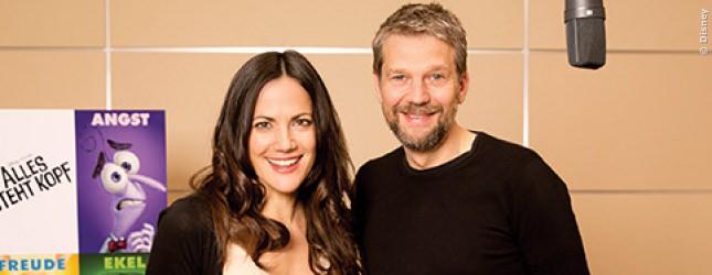 Bettina Zimmermann und Kai Wiesinger spielen MOM und DAD. Im echten Leben sind beide ein Paar und erwarten gerade ein Kind. Passt.
