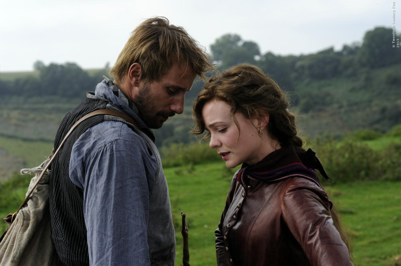 Gabriel Oak (Matthias Schoenaerts) und Bathsheba Everdene (Carey Mulligan)