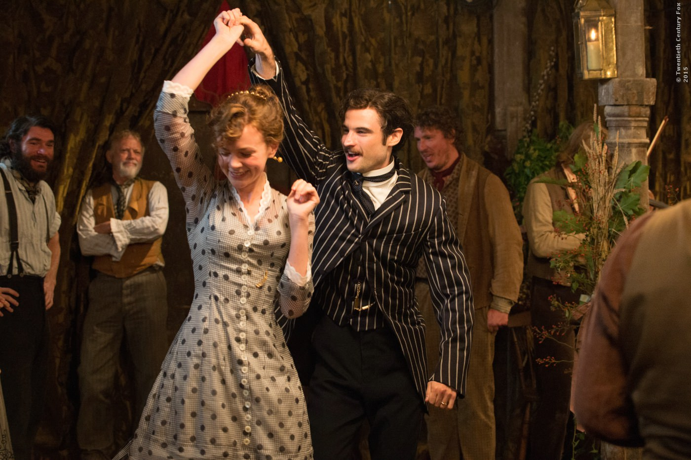 Frank Troy (Tom Sturridge) und Bathsheba Everdene (Carey Mulligan)