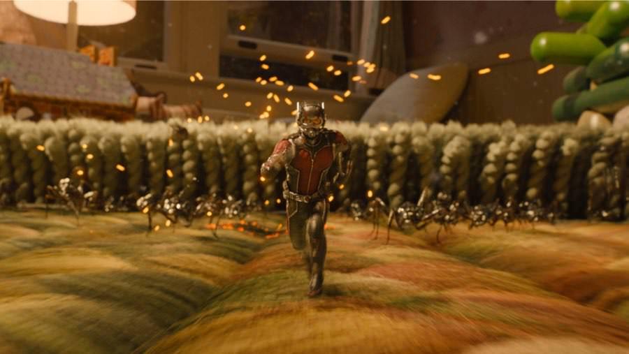 Ant-Man greift an - mit seiner Armee aus Ameisen.