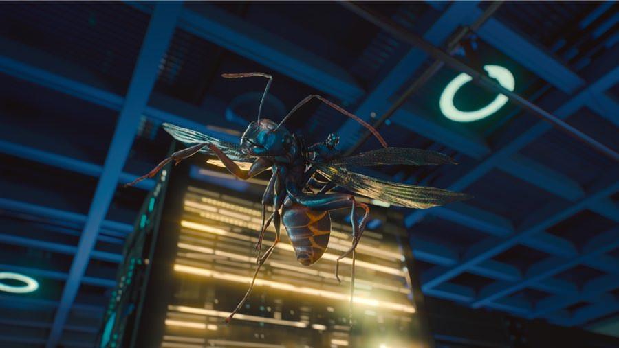 Auch auf einer Flugameise kann Superheld Ant-Man auf Mission gehen.