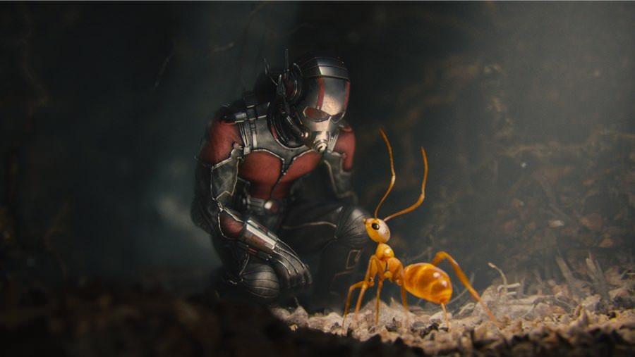 Auch als Babysitter würde sich Superheld Ant-Man ziemlich gut machen.