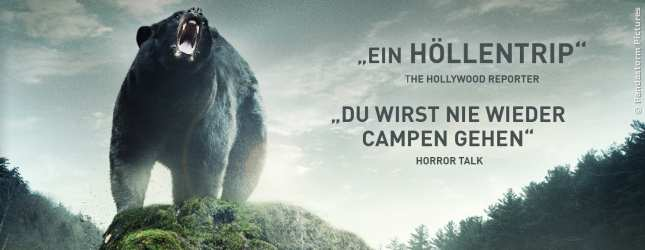 Die internationale Presse liebt den Abenteuerfilm Backcountry.