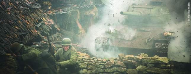 Die Flucht aus dem Schützengraben. In Brüder Feinde kämpfen junge Esten an mehreren Fronten.