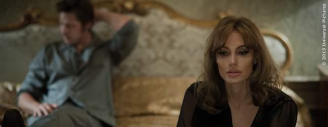 Angelina Jolie und Brad Pitt verstehen sich hier nicht mehr wirklich.