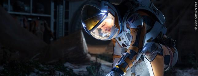 Matt Damon ist in Der Marsianer ganz allein auf dem Mars!