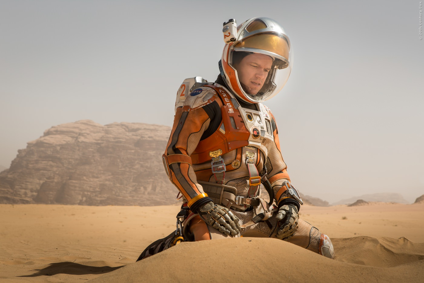 Bis Rettung kommt, muss er mit dem Überleben, was der Mars ihm bietet!