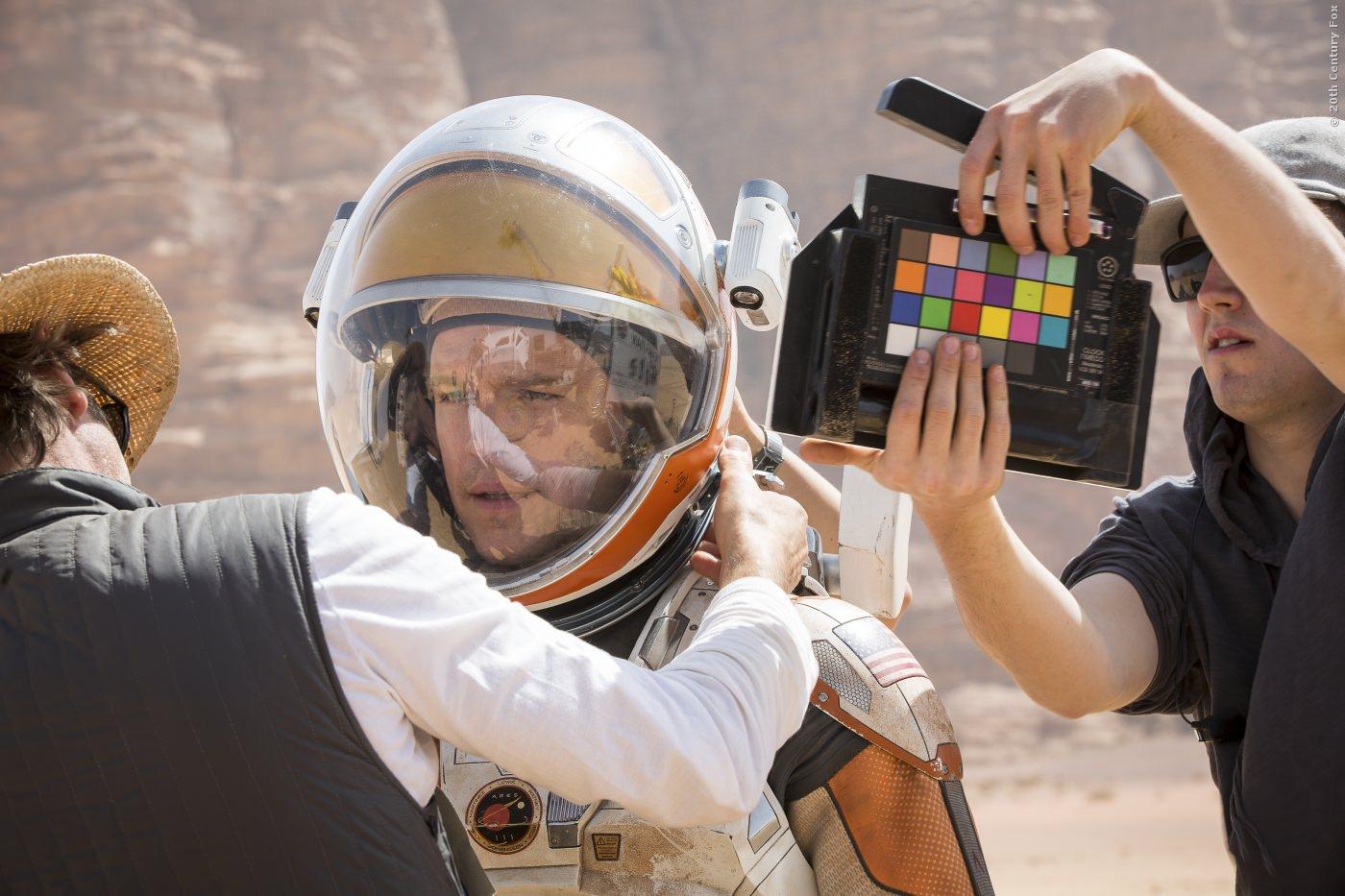 Gedreht wurde Der Marsianer in der Wüste von Jordanien!