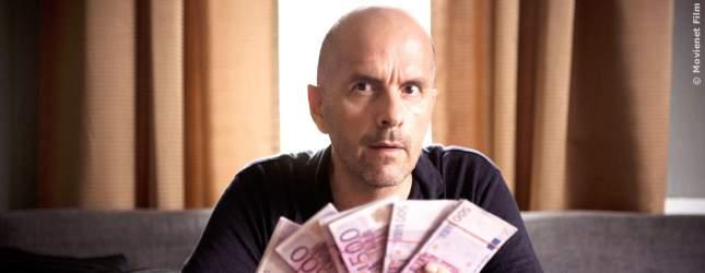 Geld ist immer gut! Christoph Maria Herbst als Bewährunshelfer, der auch einige Tricks kennt.