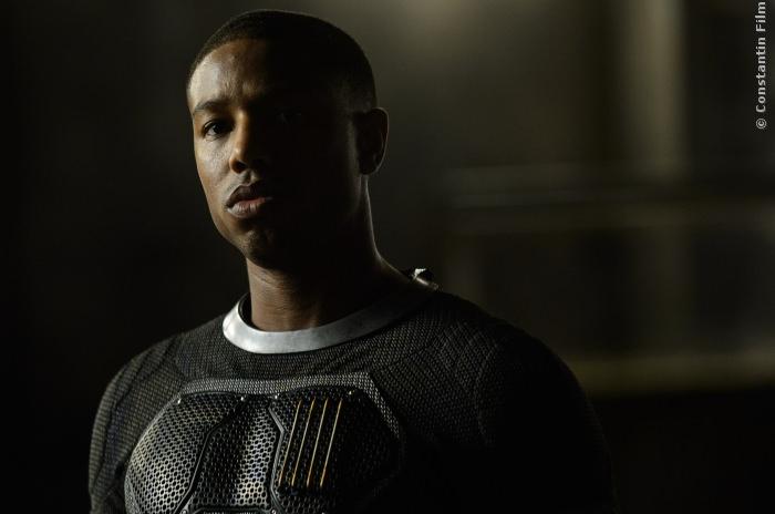 Michael B. Jordan spielt die menschliche Fackel in Fantastic Four