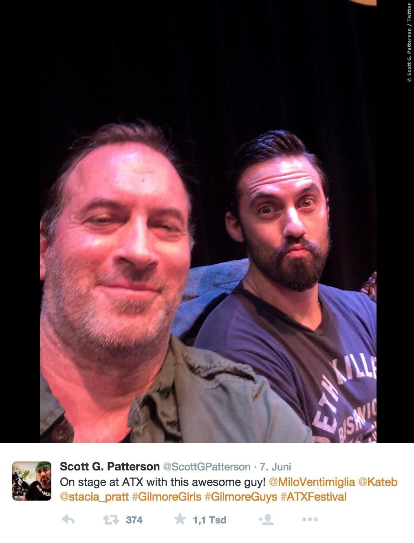 Besonders Scott G. Patterson schien eine Menge Spaß zu haben!