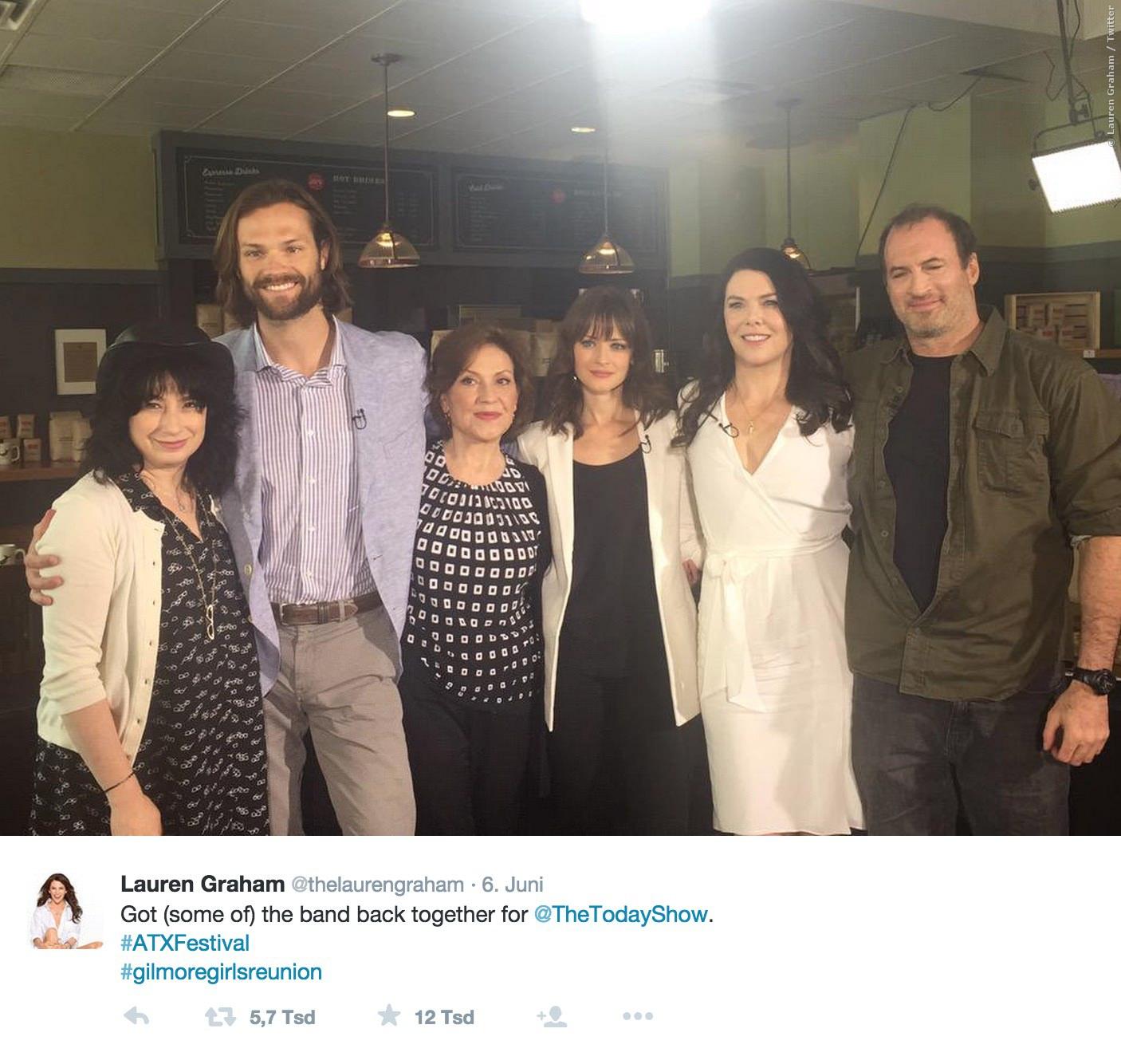 Der Cast von Gilmore Girls traf sich beim ATX Television Festival!