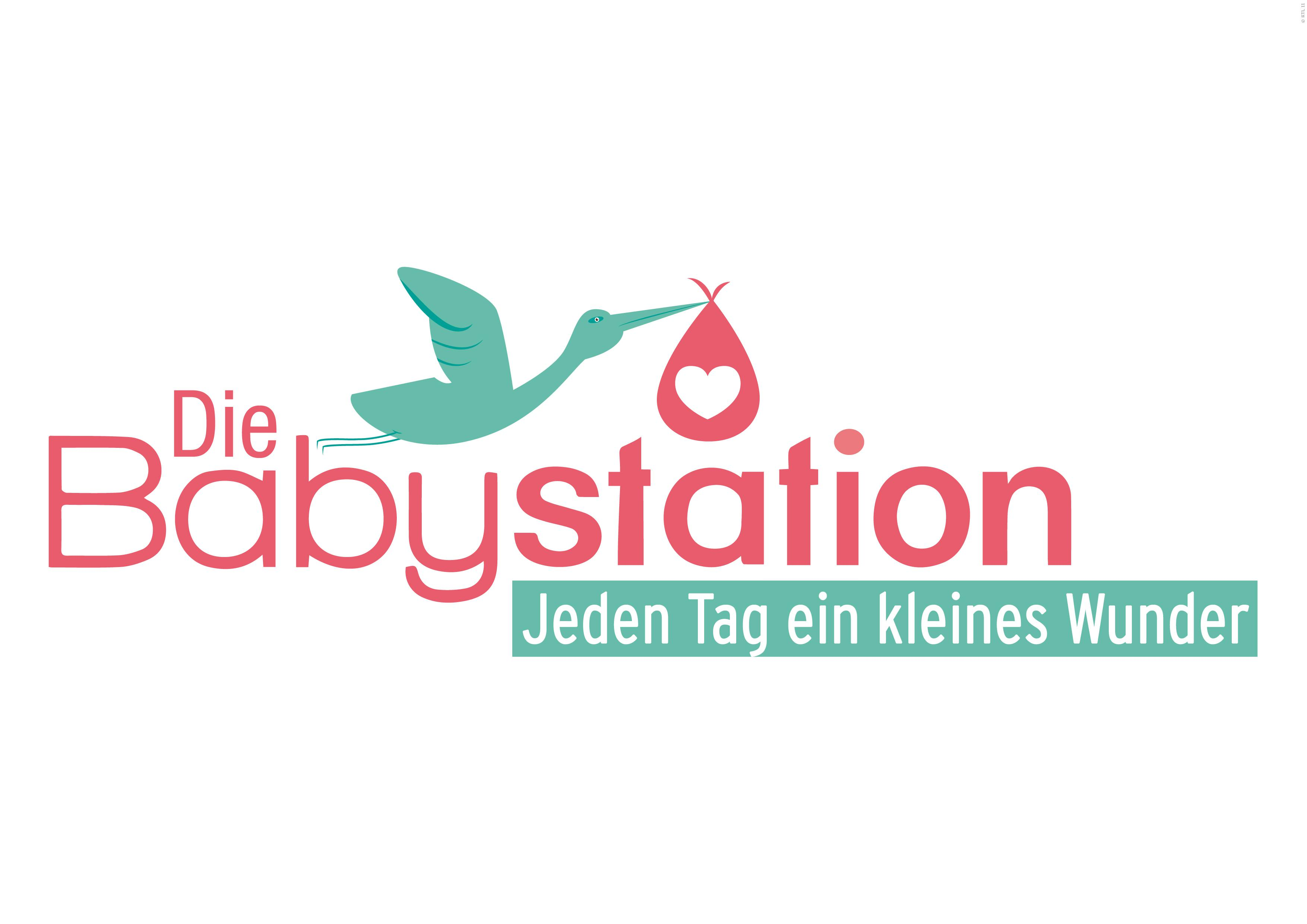 Logo zur Doku-Serie DIE BABYSTATION auf RTL II