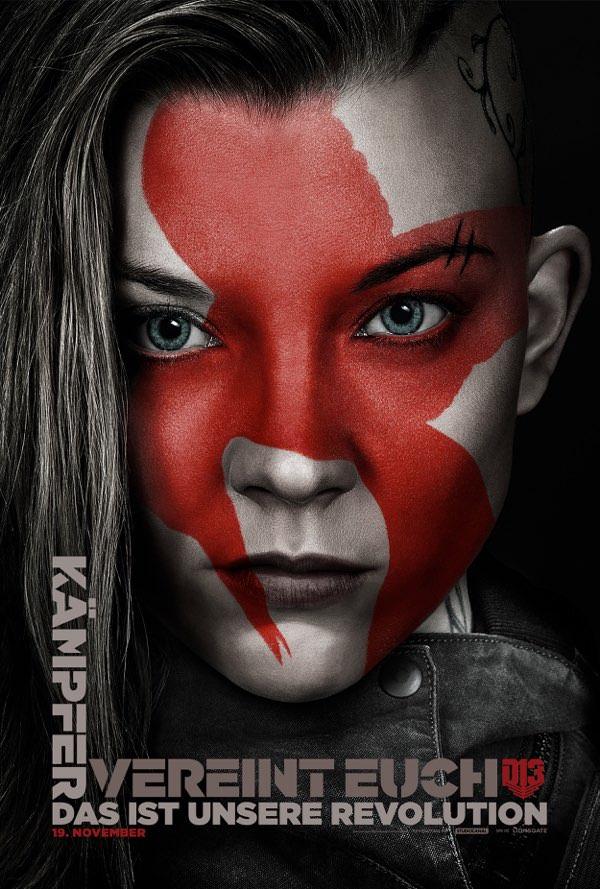 Cressida sieht nicht nur gefährlich aus, sie ist es auch als Revolutionskämpferin.
