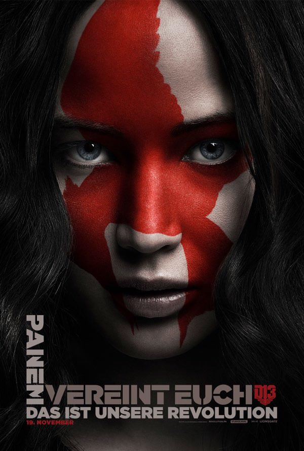 Charakterplakate zu die tribute von panem mockingjay 2 trailerseite film tv for Die tribute von panem 2