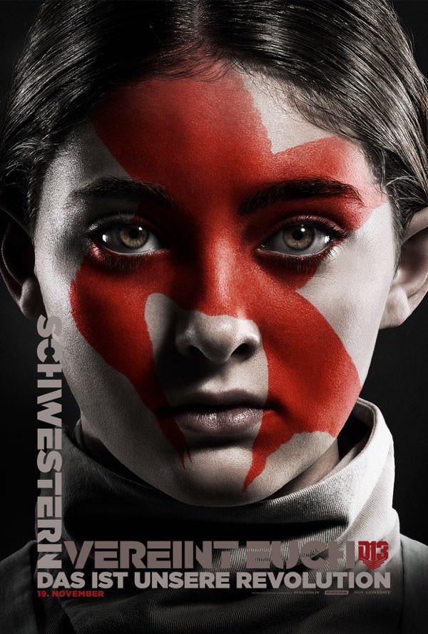 Prim, die kleine Schwester von Katniss, kämpft auch so hart sie kann im Panem-Finale.