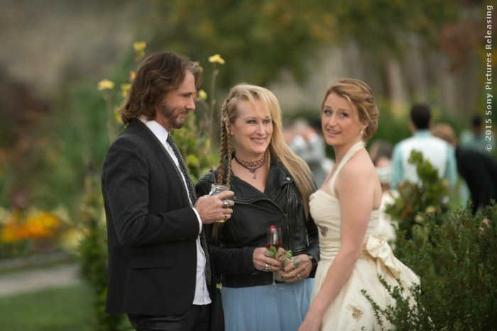 Greg (Rick Springfield), Ricki (Meryl Streep) und Julie (Mamie Gummer)