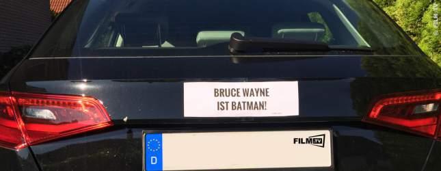 FILM.TV Car-Tuning: Der Heck-SPOILER für jedes Auto - aufkleben statt anbauen! Das PDF mit allen Spoilern zum ausdrucken gibts direkt hier unter der Bildershow. Falls wir euch jetzt übrigens Batman versaut haben, entschuldigen wir uns.