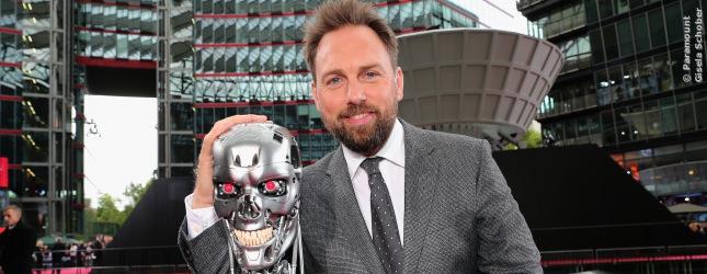 Moderiert wurde die Terminator 5 Premiere von Steven Gaetjen.