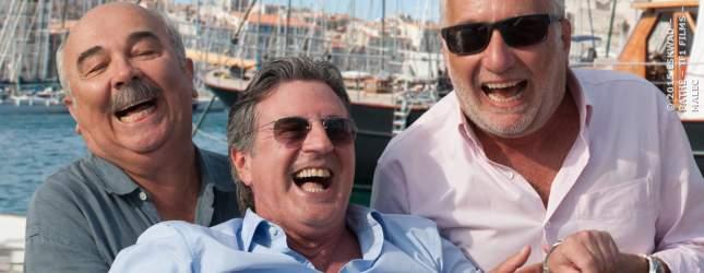 Seit 40 Jahren befreundet: Richard, Gilles und Philippe.