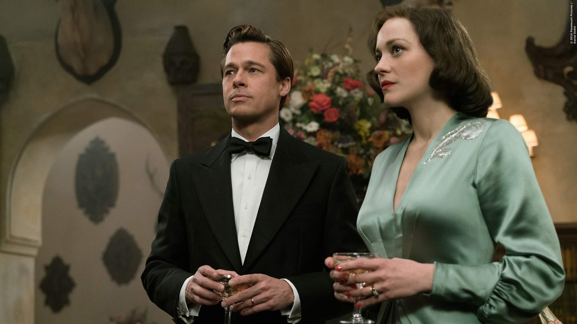 Erster Trailer zu Allied mit Brad Pitt - Bild 1 von 2