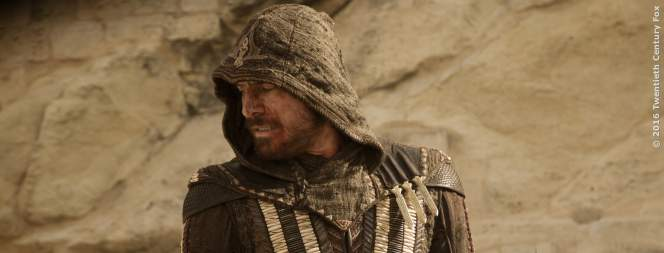 Michael Fassbender als Aguilar in Assassins Creed