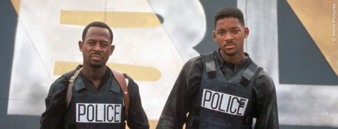 Die Bad Boys: Martin Lawrence und Will Smith
