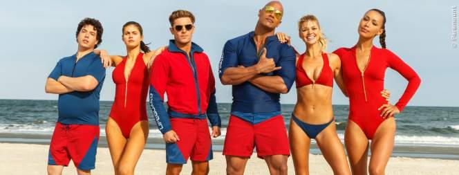 Baywatch Film: Neuer deutscher Trailer mit The Rock