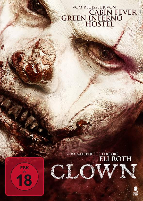 Clown 3D Blu-ray Cover