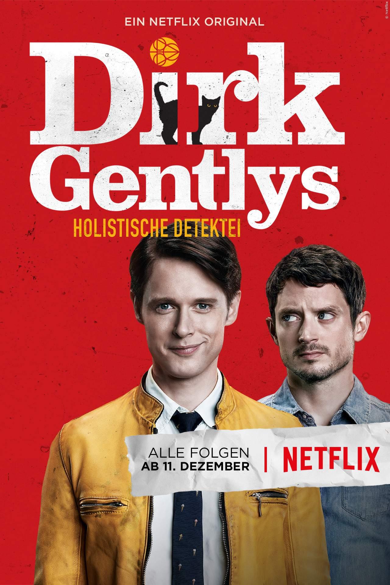 Elijah Wood in Netflix-Serie Dirk Gentlys Holistische Detektei - Bild 1 von 1