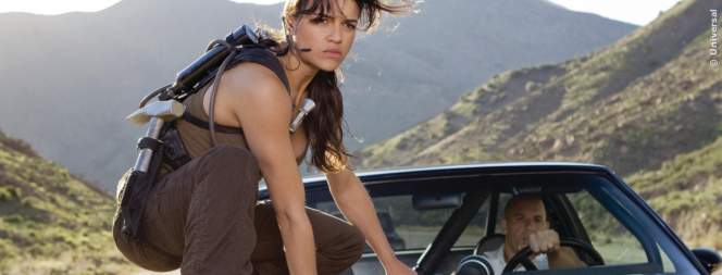 Michelle Rodriguez als Letty in The Fast And The Furious