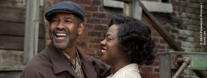 Denzel Washington und Viola Davis in Fences
