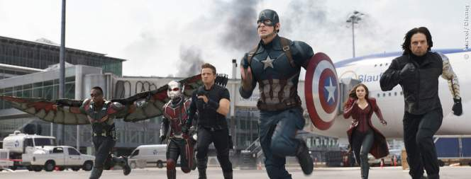 Die Avengers in The First Avenger