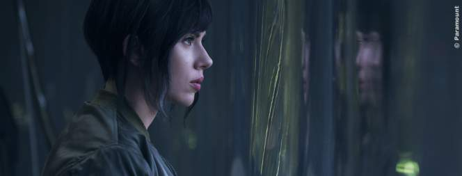 Ghost In The Shell - Erste Glitch-Clips