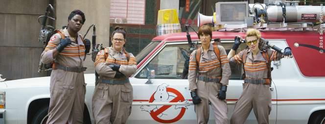 Die neuen Ghostbusters sind startklar für den Einsatz!