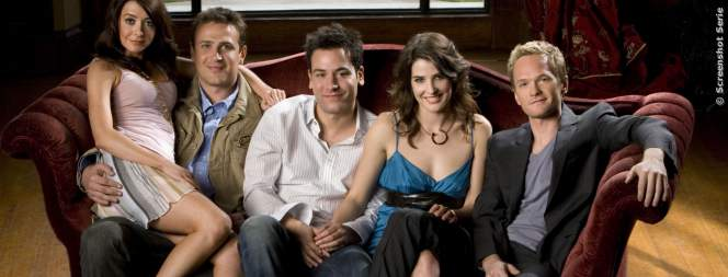 Die legendäre Gang aus How I Met Your Mother