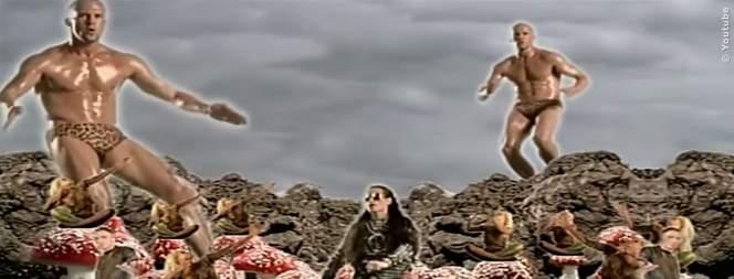 Jason Statham vor seiner Hollywoodkarriere im Musikvideo von The Shamen