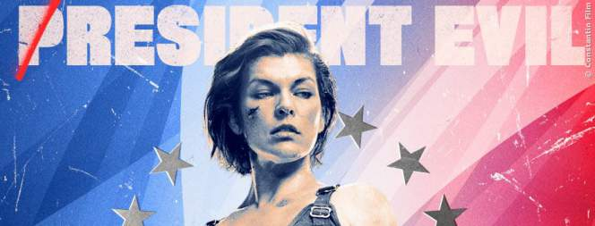 Milla Jovovich als Retterin der Welt in Resident Evil 6 - The Final Chapter