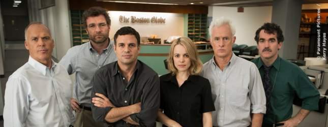 Die engagierten Investigativ-Journalisten vom Team Spotlight.