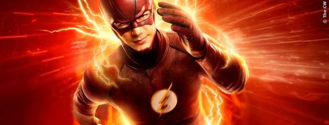 The Flash hat seit einem Unglück merkwürdigerweise plötzlich Superkräfte, ist aber nicht unbesiegbar.