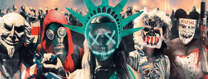 Das Plakat-Motiv zum Horrorfilm The Purge 3 - Election Year