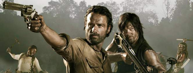 TWD: Rick (Andrew Lincoln) und Daryl (Norman Reedus)