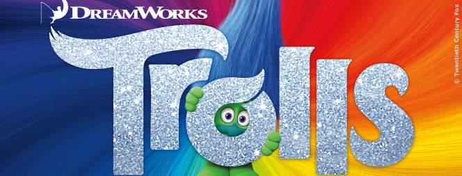 Das Logo zum Film mit den Trolls