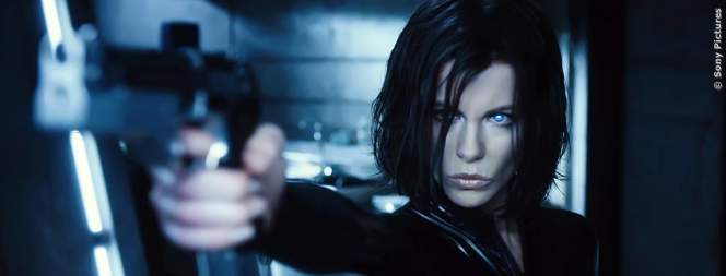 Kate Beckinsale als Selene in Underworld 5: Blood Wars!